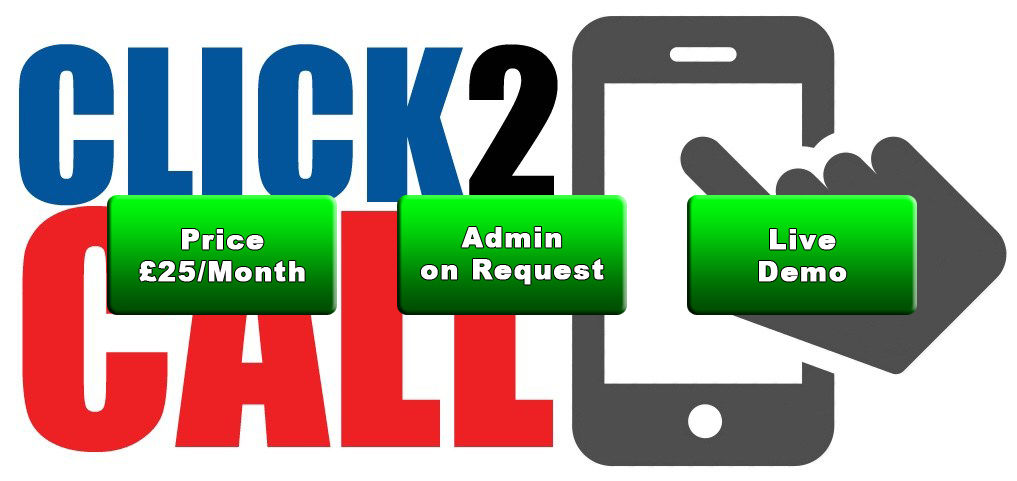 Click 2 Call Script - Allow your website visitors to talk to you via